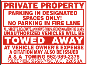 Private Property Impounds